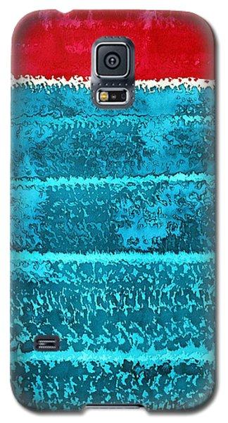 Waves Original Painting Galaxy S5 Case