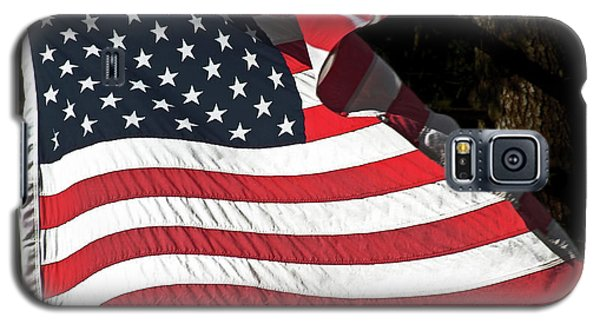 Waving Flag Galaxy S5 Case