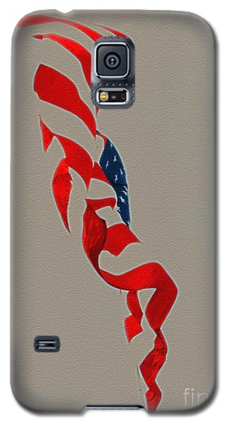 Waving Galaxy S5 Case by Lydia Holly