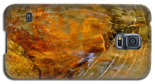 Wavy Water On Colorful Rocks Galaxy S5 Case by Kirsten Giving