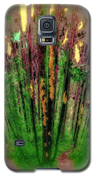 Wax Forest Cathedral Galaxy S5 Case