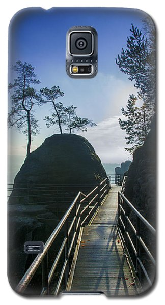 Way Into The Light On Neurathen Castle Galaxy S5 Case