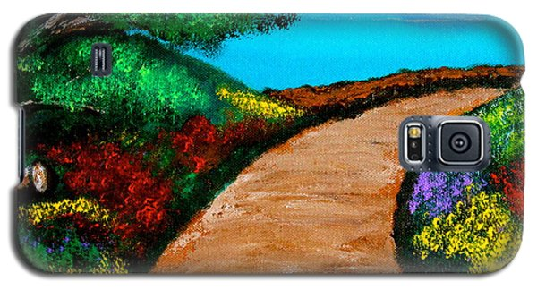 Way To The Sea Galaxy S5 Case by Cyril Maza