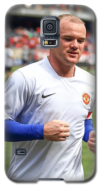 Wayne Rooney 5 Galaxy S5 Case by Keith R Crowley