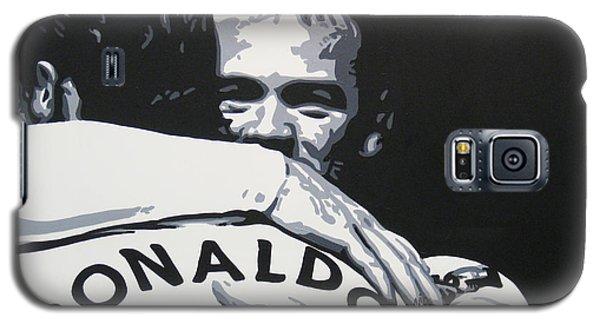 Wayne Rooney And Ronaldo - Manchester United Fc Galaxy S5 Case