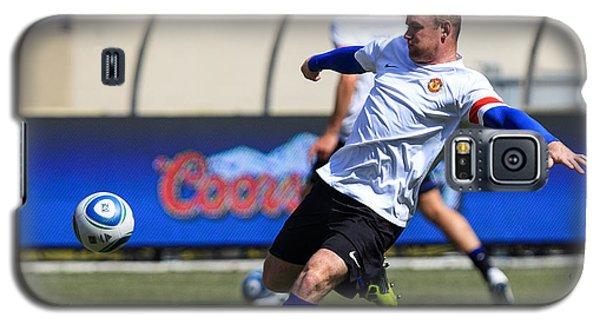 Wayne Rooney Galaxy S5 Case by Keith R Crowley