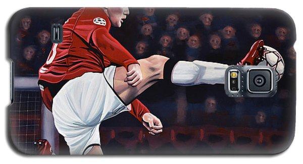Wayne Rooney Galaxy S5 Case by Paul Meijering