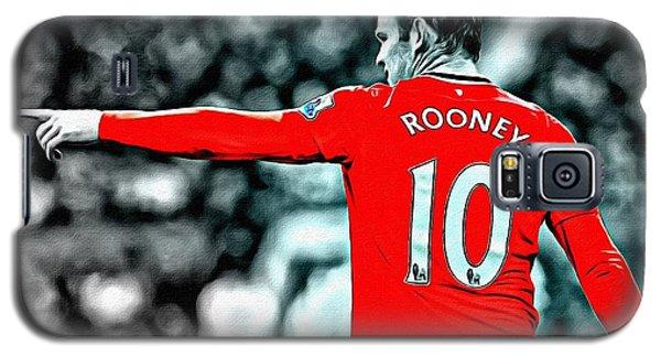 Wayne Rooney Poster Art Galaxy S5 Case