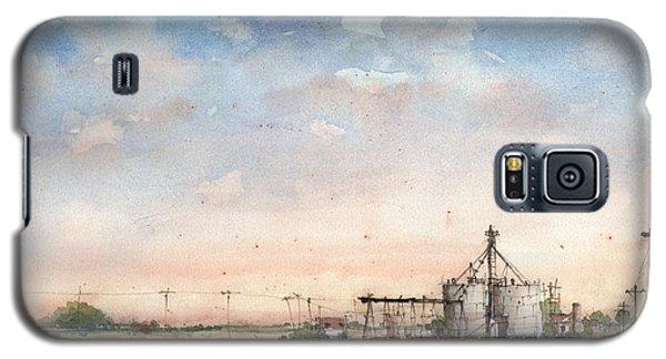 Wayside Elevator Galaxy S5 Case by Tim Oliver