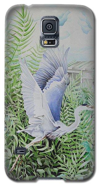 Wrightsville Blue Heron Galaxy S5 Case