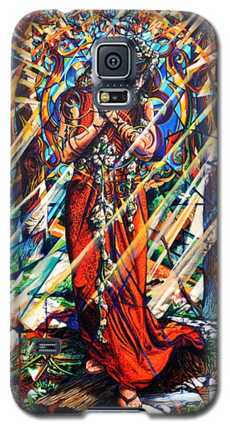Galaxy S5 Case featuring the painting We Came Along This Road by Greg Skrtic