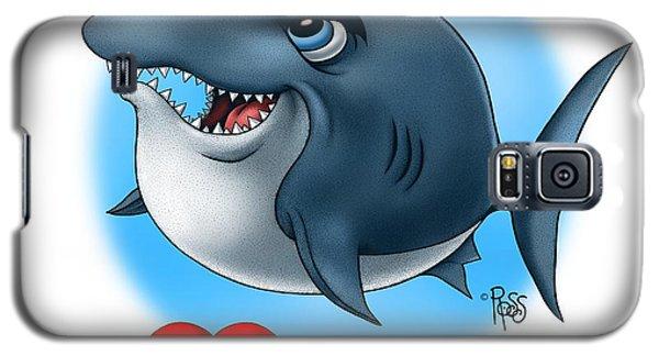 We Love Tourists Shark Galaxy S5 Case