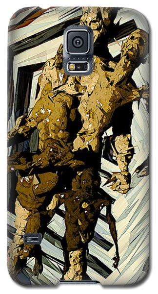 Galaxy S5 Case featuring the digital art we by Matt Lindley