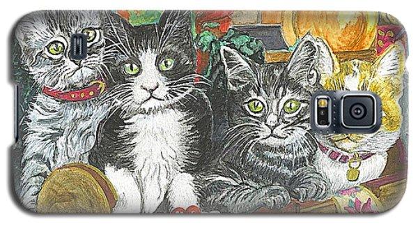 Galaxy S5 Case featuring the painting In Harmony by Carol Wisniewski