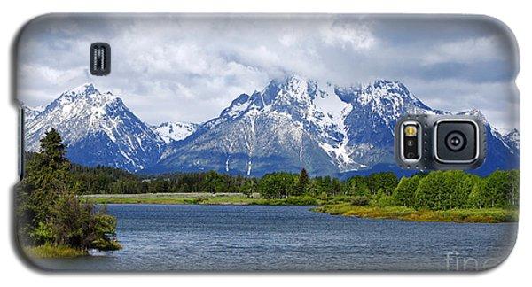 Weather On The Teton Mountain Range At Oxbow Bend Galaxy S5 Case