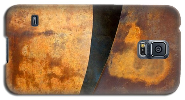 Weathered Bronze Abstract Galaxy S5 Case