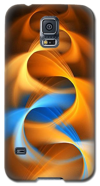 Weaving Color  Galaxy S5 Case by Elizabeth McTaggart