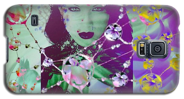 Web Galaxy S5 Case by Diana Riukas