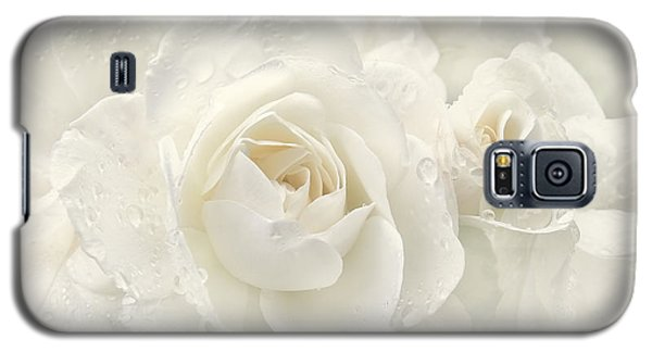 Wedding Day White Roses Galaxy S5 Case