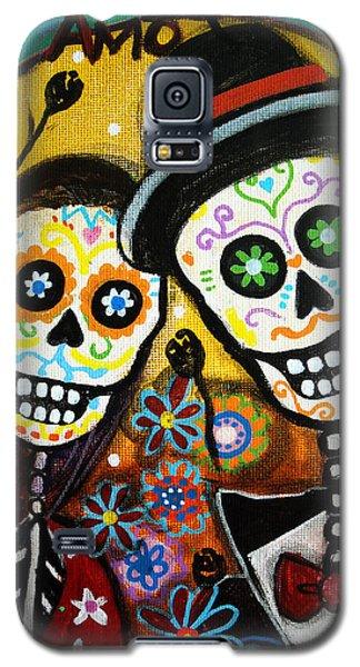 Wedding Dia De Los Muertos Galaxy S5 Case