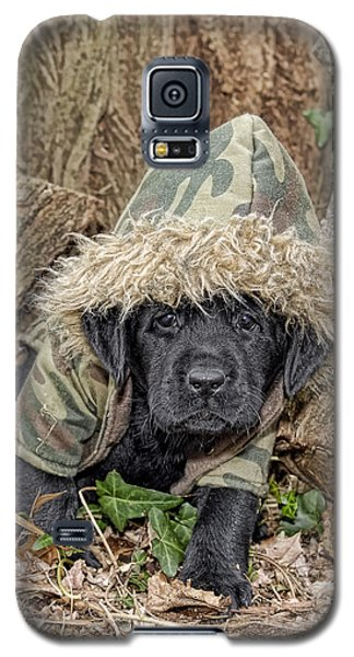 Galaxy S5 Case featuring the photograph Wee Hunter by Sami Martin
