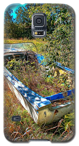 Galaxy S5 Case featuring the photograph Weed Boat by Michaela Preston