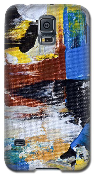 Galaxy S5 Case featuring the painting Weekend Retreat by Heidi Smith