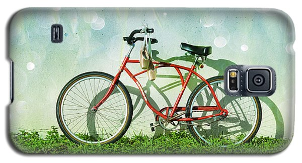 Bicycle Galaxy S5 Case - Weekender Special by Laura Fasulo