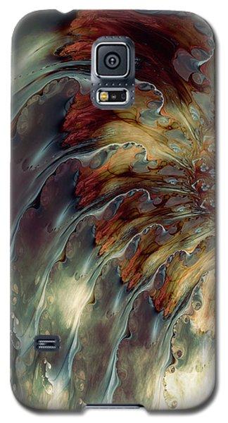 Galaxy S5 Case featuring the digital art Weep by Kim Redd