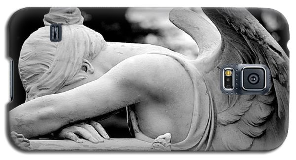 Galaxy S5 Case featuring the photograph Weeping Angel by AJ  Schibig