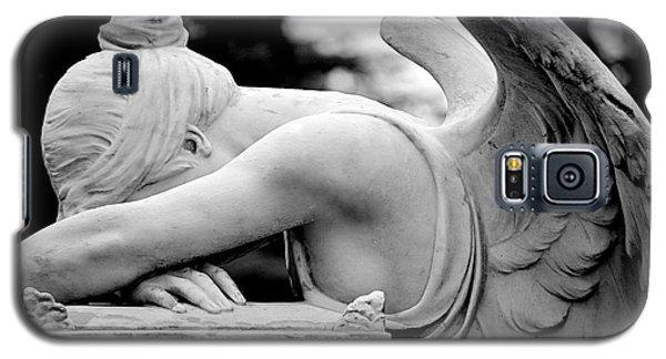Weeping Angel Galaxy S5 Case by AJ  Schibig