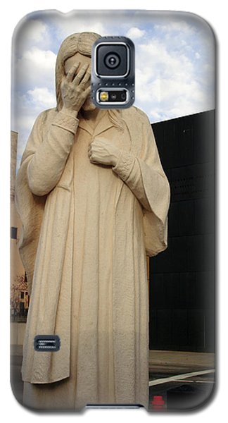 Weeping Jesus Statue In Oklahoma City Galaxy S5 Case