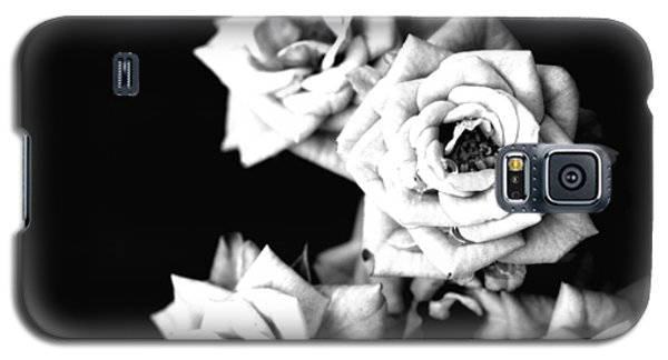 Galaxy S5 Case featuring the photograph Weeping Roses by Rachel Mirror