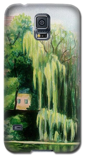 Weeping Willow At North Pond Galaxy S5 Case