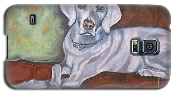 Weimaraner Reclining Galaxy S5 Case