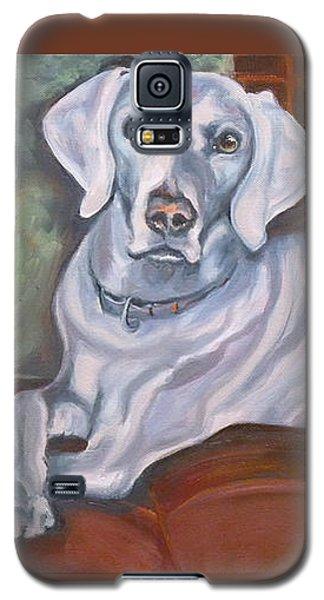 Weimaraner Reclining Galaxy S5 Case
