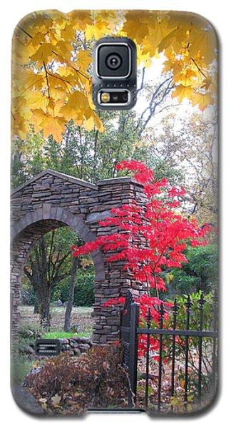 Galaxy S5 Case featuring the photograph Welcome Autumn by Brooks Garten Hauschild