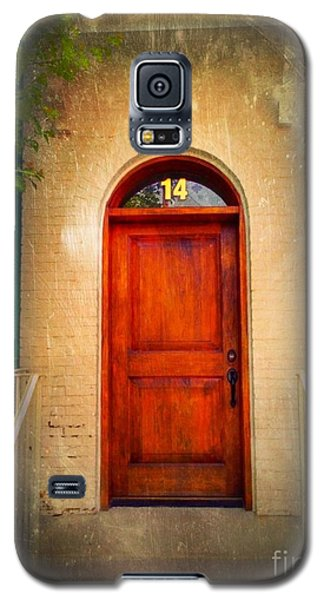 Galaxy S5 Case featuring the photograph Welcome Home by Becky Lupe