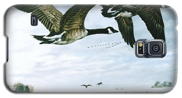 Galaxy S5 Case featuring the painting Welcome Home by Craig T Burgwardt