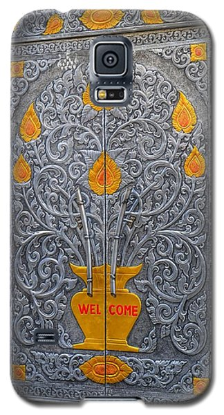 Galaxy S5 Case featuring the photograph Welcome by Mary Zeman