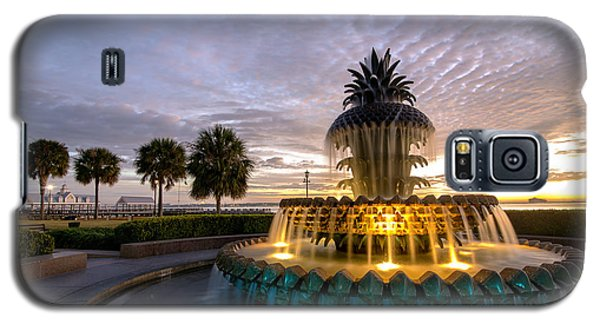 Welcome To Charleston Galaxy S5 Case by Serge Skiba