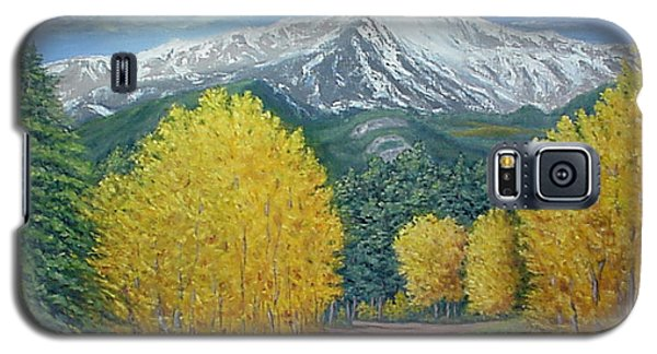 Galaxy S5 Case featuring the painting Welcome To God's Country by Fran Brooks