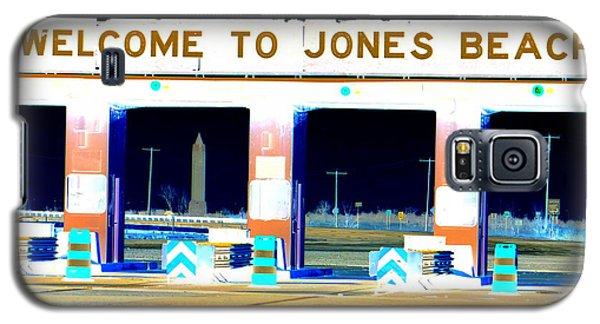 Welcome To Jones Beach Galaxy S5 Case by Ed Weidman