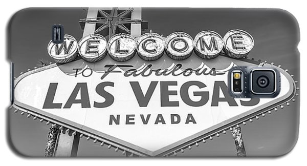Welcome To Las Vegas Sign Black And White Galaxy S5 Case