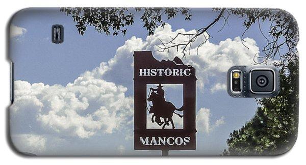Welcome To Mancos Colorado Sign Galaxy S5 Case