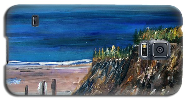 Welcome To The Beach Galaxy S5 Case