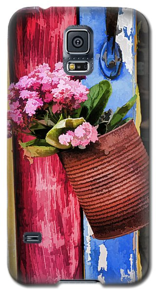 Welcoming Flowers Galaxy S5 Case by Gary Slawsky