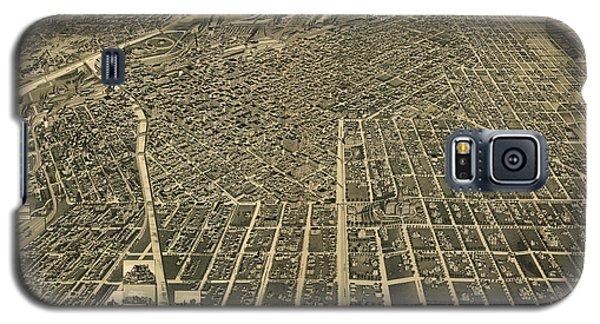 Wellge's Birdseye Map Of Denver Colorado - 1889 Galaxy S5 Case