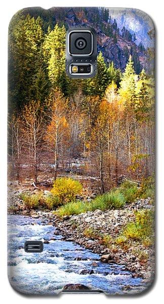 Wenatchee River - Leavenworth - Washington Galaxy S5 Case