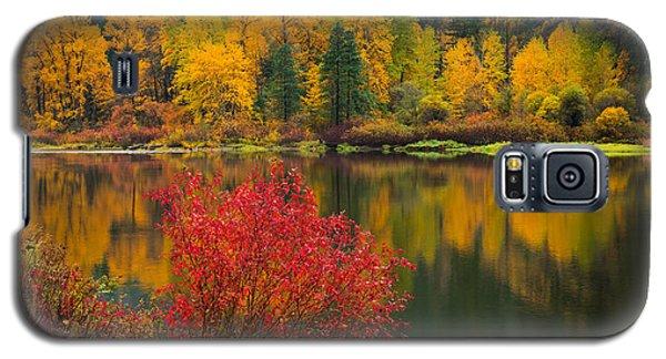 Wenatchee River Reflections Galaxy S5 Case